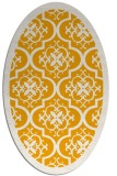 rug #1139855 | oval light-orange popular rug
