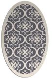rug #1139869 | oval borders rug