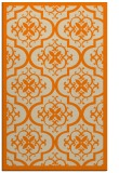 rug #1139871    orange borders rug