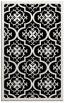 rug #1139875 |  black damask rug