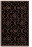 rug #1139887 |  brown damask rug