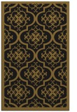 rug #1139891 |  mid-brown damask rug