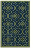 rug #1139915 |  blue damask rug