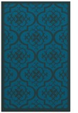 rug #1139935 |  blue-green traditional rug