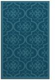 rug #1139939    blue-green damask rug