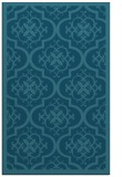 rug #1139939 |  blue-green borders rug