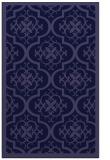 rug #1139955    blue-violet borders rug