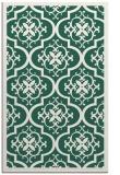 rug #1140003 |  green borders rug