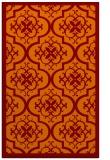 rug #1140079 |  red-orange borders rug