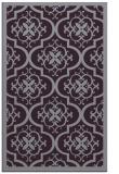 rug #1140123 |  purple damask rug