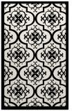 rug #1140159 |  white damask rug