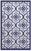 rug #1140167 |  blue damask rug