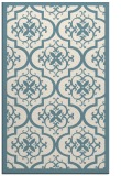 rug #1140179 |  blue-green borders rug