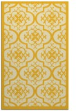 rug #1140187 |  yellow damask rug