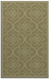 rug #1140211 |  light-green damask rug