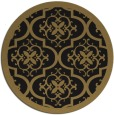 rug #1140267 | round mid-brown popular rug