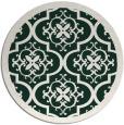 rug #1140373 | round damask rug