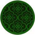 rug #1140444 | round damask rug