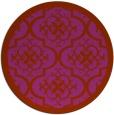 rug #1140510 | round traditional rug