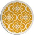 rug #1140591 | round light-orange borders rug