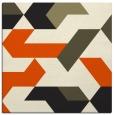 rug #1140999   square black graphic rug