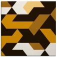 rug #1141275 | square brown retro rug