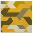 rug #1141291 | square yellow rug