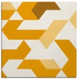rug #1141327 | square light-orange graphic rug