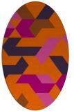 rug #1141625   oval abstract rug