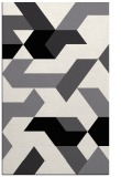 rug #1141715 |  black geometry rug
