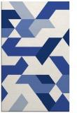 rug #1141759 |  blue graphic rug