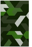 rug #1141851 |  light-green retro rug