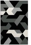 rug #1141855    black graphic rug