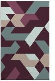 rug #1141875 |  pink geometry rug