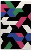 rug #1141911 |  black graphic rug