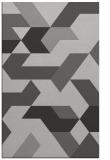 rug #1141931 |  red-orange retro rug