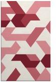 rug #1141939 |  pink popular rug