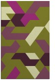 rug #1141955 |  purple graphic rug