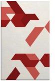 rug #1141975 |  red retro rug