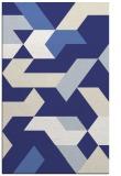 rug #1142007 |  white abstract rug