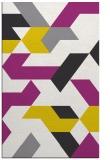 rug #1142035 |  white graphic rug