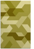 rug #1142047 |  light-green graphic rug