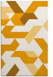 rug #1142063 |  light-orange graphic rug