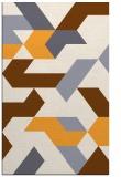 rug #1142075    light-orange retro rug