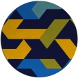 rug #1142111   round blue abstract rug