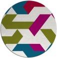 rug #1142197 | round graphic rug