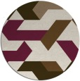 rug #1142237 | round abstract rug