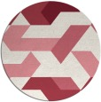 rug #1142309 | round abstract rug