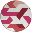 rug #1142317 | round abstract rug