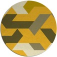 rug #1142395 | round graphic rug